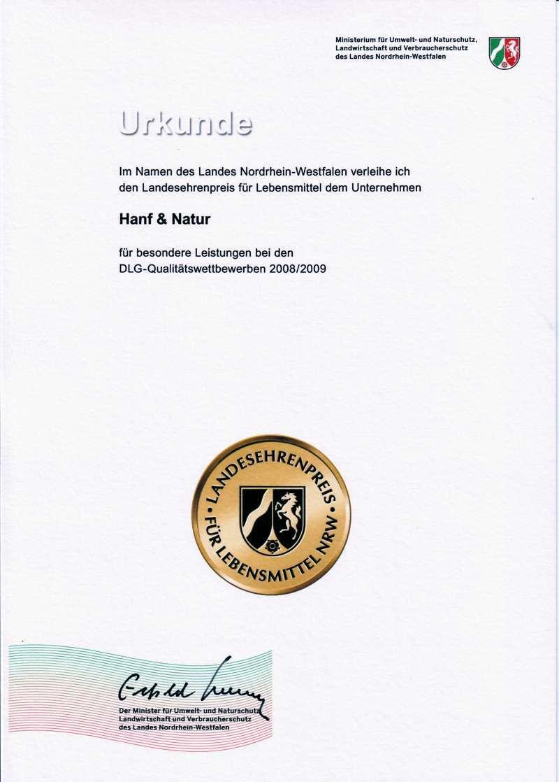 Landesehrenpreis NRW 2009