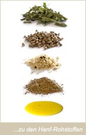 hemp - raw material