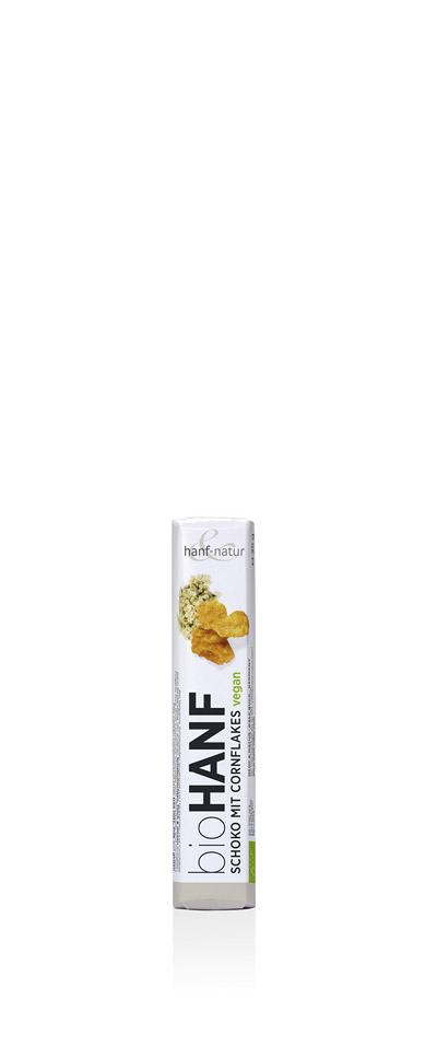 0-1311 -      Hanf Schokoriegel  Cornflakes  35g