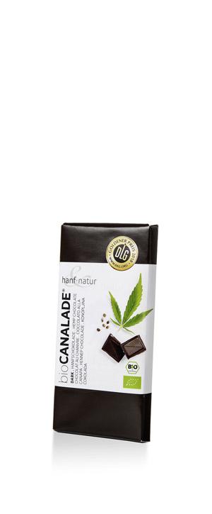 Canalade dark Hemp chocolate    Zum Produkt